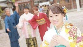栃木県小山市須賀神社での振袖ロケーション写真をご紹介!