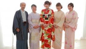 ご家族さまもお着物で記念撮影を ~あまのやで迎える振袖成人式~