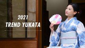 2021 レトロでカワイイ浴衣 目指せ!ゆかた美人