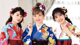 """袴の""""3色コーデ""""で花咲く、色とりどりの卒業式スタイル"""